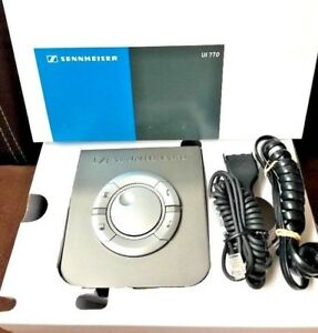 Sennheiser Ui770 Universal Wideband Interface Box Amplifier New Open Box Scratch