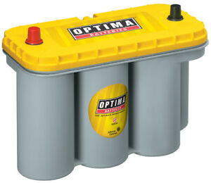 Battery Yellow Top Optima Battery 8051 160