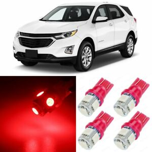 13 X Red Interior Led Lights Package For 2010 2019 Chevy Chevrolet Equinox