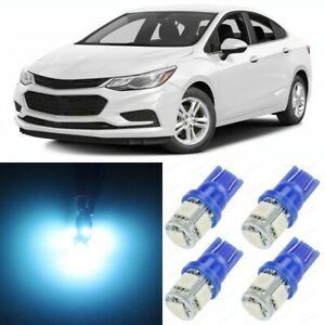 10 X Ice Blue Interior Led Lights Package For 2011 2015 Chevy Cruze Tool