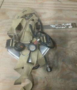 Magnum Isi Scba Breathing Apparatus Back Pack Regulator System