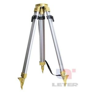 New Aluminum Tripod Head Tripod For Total Station