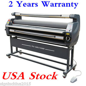 Usa 110v 63 Entry Level Full Auto Wide Format Heat Assisted Cold Laminator