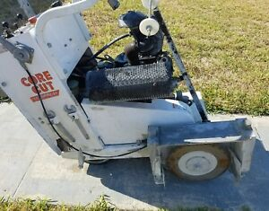 Core Cut Cc190pro ee Electric 44 7 Hours Concrete Target Diamond Saw 2999 Obo