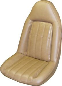 1975 76 Chevrolet Monte Carlo Front Coupe Rear Seat Covers Pui