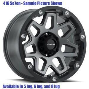 4 New 17 Wheels For Chevy Gmc Silverado 2500 3500 8 Lug 21855