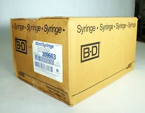 New In Box Quantity Of 30 B d Becton Dickinson 309663 60ml Luer lok Syringes J10
