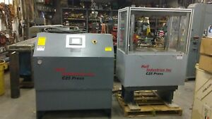 4 Post Hydraulic Press Hull Industries C25