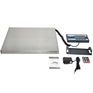 Digital Heavy Duty Postal Scale 400 Lb Platform Ship Postal Industry Warehouse