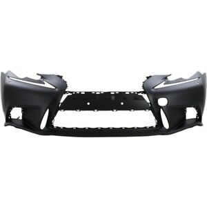 New Bumper Cover Front Lx1000256 521195e907 Sedan For Lexus Is250 Is350 2014