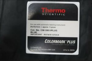 Lot Of 25 Thermo scientific Pre cleaned Microscope Slides Blue cm 5951wplus