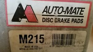 Auto Mate Front Brake Pads M215