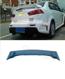 Factory Style Spoiler Wing Abs For 2008 2017 Mitsubishi Lancer Spoiler Evo 10 X