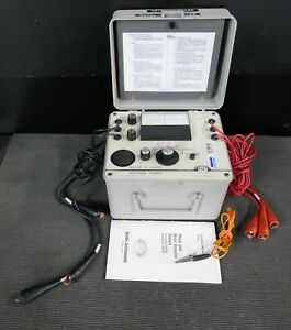 Biddle Instruments Megger Cat 560060 Portable Motor Phase Rotation Tester