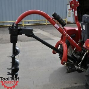 Model 400 3 point Post Hole Digger For Compact subcompact cat 0 Tractor
