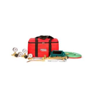 Cut Welder Kit Welding Hose 3 6inx12ft Goggles Torch Handle Acetylene Regulator