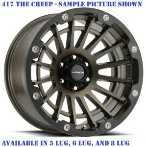 4 New 17 Wheels For Chevy Gmc Silverado 2500 3500 8 Lug 21870