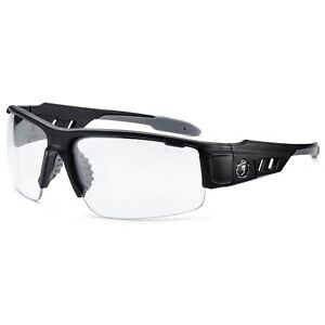Ergodyne Skullerz Dagr Safety Glasses Matte Black Frame