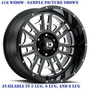 4 New 20 Wheels Rims For Chevy Avalanche 2500 4wd Gmc C 2500 8 Lug 21873