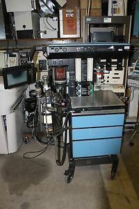 Drager Anesthesia Machine Narkomed 2b With Halothane 19 1