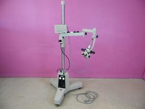 Carl Zeiss F 160 Ent Surgical Microscope with Storz Urban Mobile Base Stand
