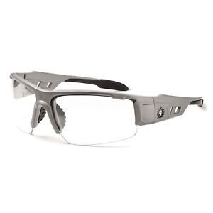 Ergodyne Skullerz Dagr Safety Glasses Matte Gray Frame