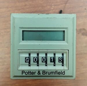 Potter Brumfield Cnt 35 96 Programmable Multifunction Time Delay Relay counter