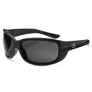 Ergodyne Skullerz Erda Safety Glasses Black Frame