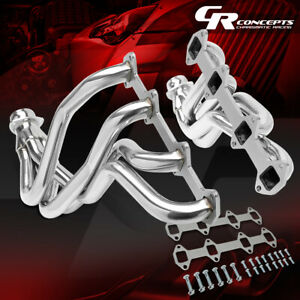 Long Tube Exhaust Header Manifold For 66 76 Ford F100 f150 f250 V8 Bbs Fe Engine