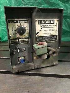 Lincoln Electric Ln 7 Wire Feeder