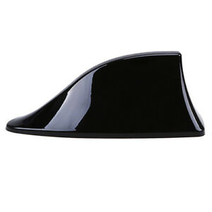 Black Universal Shark Fin Style Antenna Aerials Roof Mount Radio Fit For Bmw