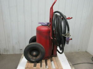 Ansul 150lb Wheeled Dry Chemical Fire Extinguisher