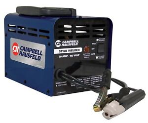 Portable Stick Welding Machine 115 Volt 70 Amp Thermal Overload Protection Blue