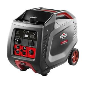 Rv Briggs Stratton P3000 2600 Watt Power Smart Series Inverter Generator 030