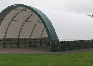 32 x36 Or Any Size Hoop Fabric Storage Hay Equipment Cattle Building