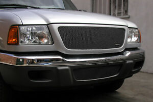 Grillcraft Mx Black Lower Mesh Grille For1006b Fits 01 03 Ford Ranger