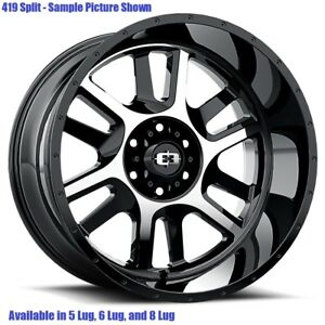 4 New 18 Wheels Rims For Chevy Avalanche 2500 4wd Gmc C 2500 8 Lug 21881