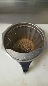 Bunn Stainless Steel Coffee Filter Brew Basket Xlarge Size
