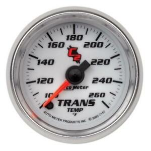 Auto Meter Gauge Transmission Temp 100 260deg F Stepper Motor C2 7157