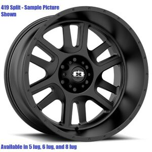 4 New 17 Wheels For Chevy Gmc Silverado 2500 3500 8 Lug 21883