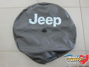 2018 Jeep Wrangler Jl Spare Tire Cover W Backup Camera Bezel Jeep Logo Oem