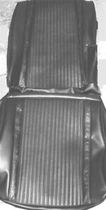 1966 Plymouth Satellite Front Bucket Rear Seat Covers Pui