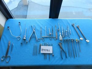 Codman Richards Zimmer Surgical Orthopedic Instrument Set