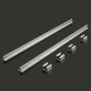 Sbr16 1000mm Supported Linear Rail Shaft Rod With 4 Pcs Sbr16uu