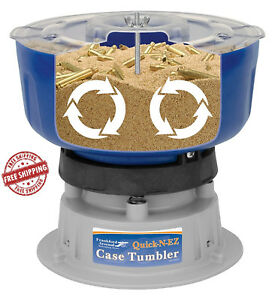 Frankford Arsenal Quick-n-Ez Brass Case Casing Tumbler Quick Easy Economical New