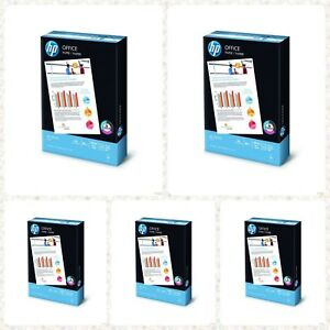 A4 80gsm 2500 Sheets 5 Ream 1box Photo Copier Printer Printing Office Copy Paper