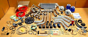 1979 1995 Ford Mustang 5 0l V8 Twin Turbo Package 5 0 Downpipes Battery Box