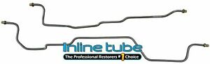 1995 99 Chevrolet Gmc Suburban Tahoe Rear Axle Differential Brake Lines Oe Steel