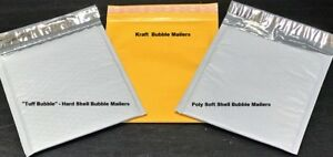 Choose Material Quantity 1 3000 Tuff Bubble Kraft Or Poly Bubble Mailers
