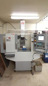 Haas Mini Mill Cnc Vertical Machining Machine Low Hours